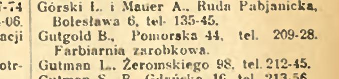 Baruch Gutgold - Pomorska 44, Lodz
